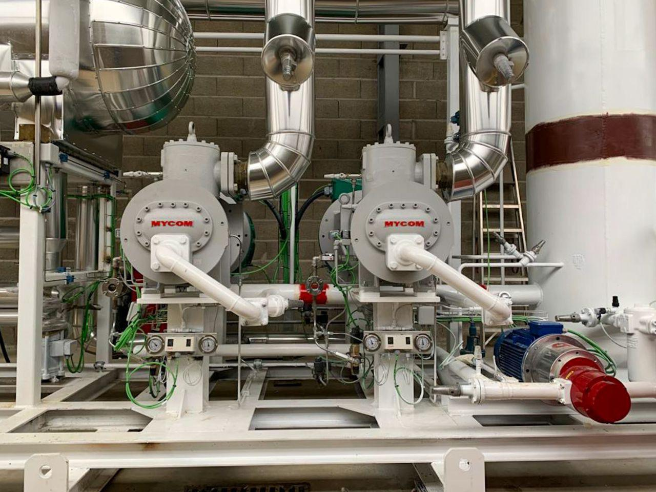 Nueva instalación y cambio de refrigerante en Aeropic